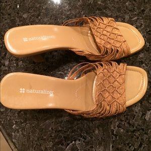 Naturalizer sandals size 8.